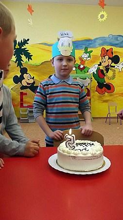 Przedszkolne urodziny Wicia