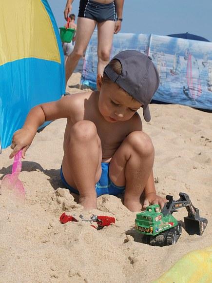 Super zabawa w piasku.