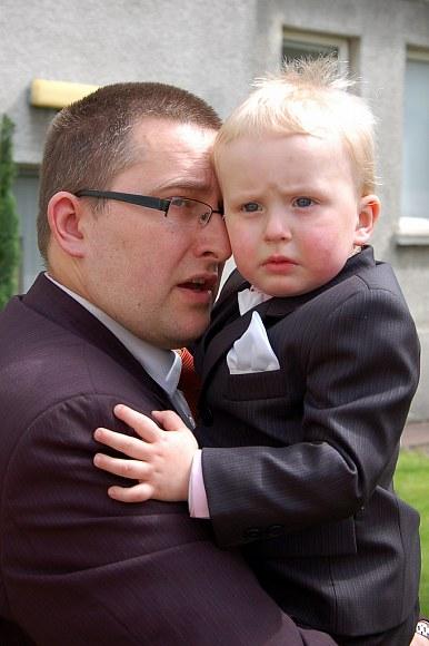 tata z synkiem