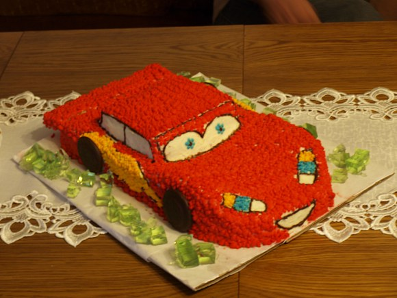 Jasiowy, urodzinowy tort...