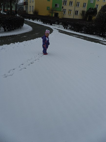 Tap, tap po śnieżku :)