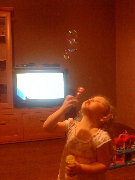 Czyli kolejne ulubione zajęcie małej dziewczynki.