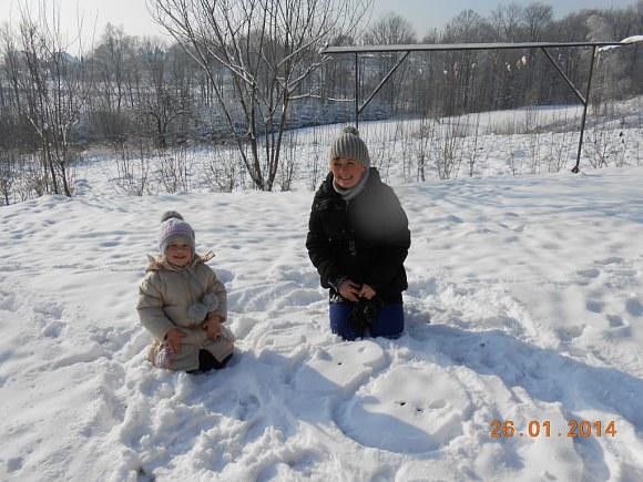 Leżącego, bo śnieg się nie kleił - 81kB