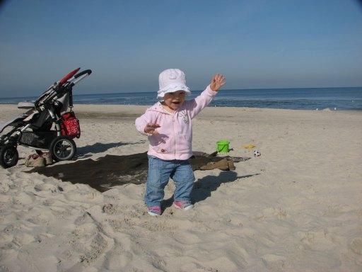 Następnego dnia na plaży