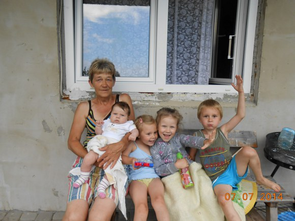 Wszystkie wnuki babci Hani