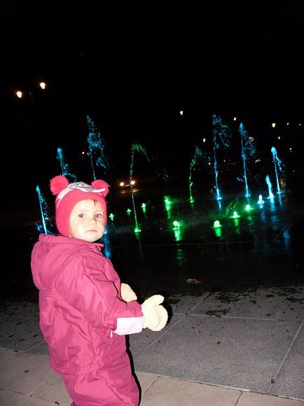 Świecące fontanny :)