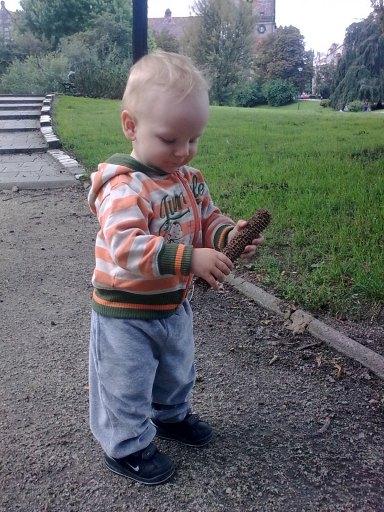 Oli w parku:)
