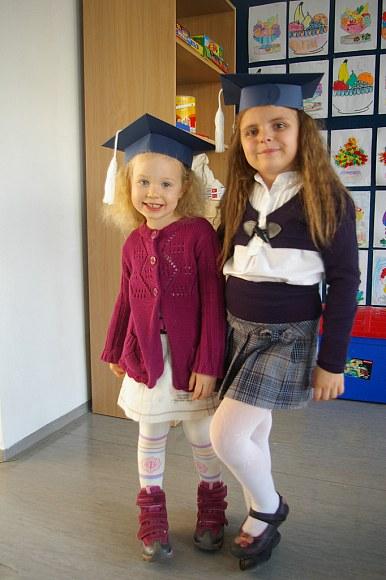 Z Vivianką w jej szkole