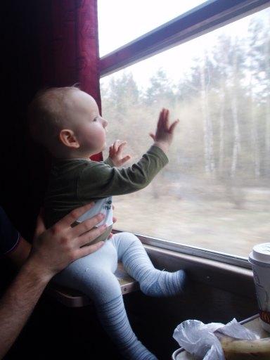 w drodze do babci:)