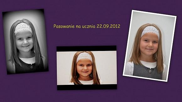 Pasowanie ucznia:) 22.09.2012