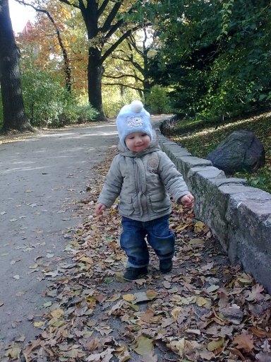w parku ide sobie :)