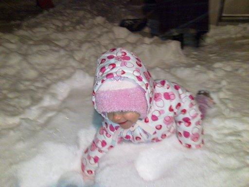 Na pierwszy śnieg byłam za mała, więc z tym przywitam się mocno!